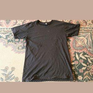 American Apparel Polka Dot XTall T-shirt XXL